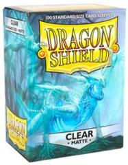 Matte Clear - Standard Boxed Sleeves (Dragon Shield) - 100 ct