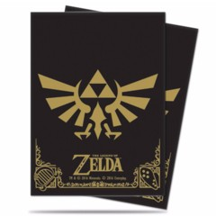 Black & Gold - Logo - The Legend of Zelda - Standard Sleeves (Ultra Pro) - 65ct