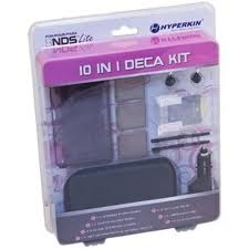 Hyperkin 10 in 1 Deca Kit for DS Lite - Black