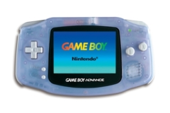Game Boy Advance Clear Blue