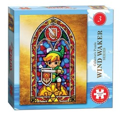 Puzzle: Legend of Zelda - Wind Waker Hero of Light Stained Glass
