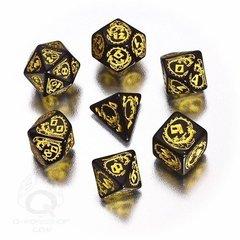 Dragons RPG Dice Set (Yellow)