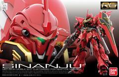 Real Grade #22 - Gundam Unicorn - MSN-06S Sinanju