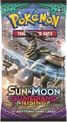 Pokemon TCG: Sun & Moon Guardians Rising Booster Pack