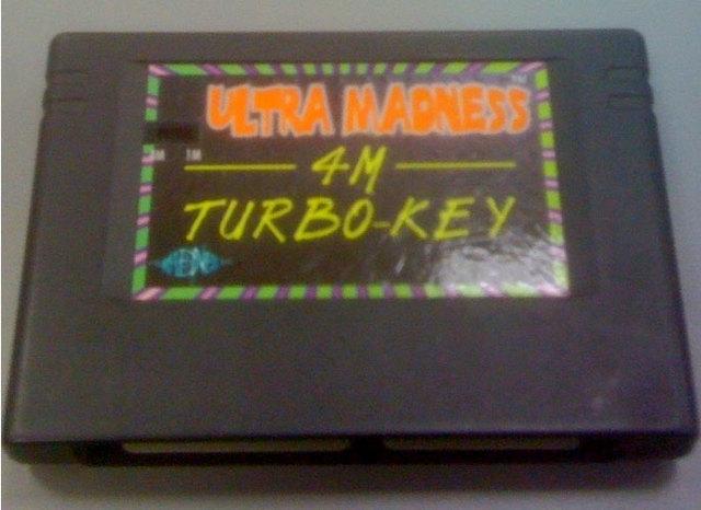 Ultra Madness 4M Turbo Key (Switch Version)