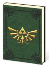 Premium Journal: Zelda - Metal Crest of Hyrule Logo