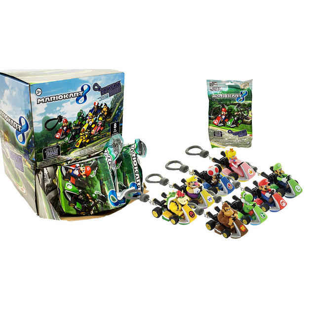 Mario Kart 8 (Backpack Hanger)   Mystery