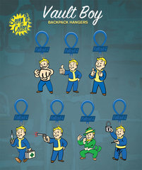 Vault Boy - Fallout 4 (Backpack Hanger) - Mystery