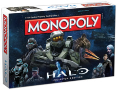 Halo Collector's Edition Monopoly Game