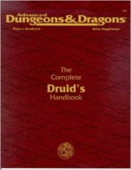 2nd Edition The Complete Druid's Handbook (Dungeon & Dragons)