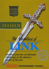 Zelda II Adventure of Link (Gold Cart)