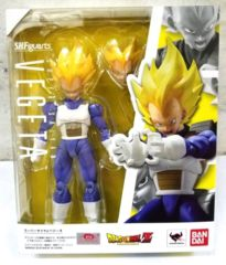 Dragon Ball Z Super Saiyan Vegeta Sh Figuarts Action Figure