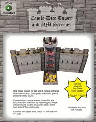 Castle Dice Tower and DM Screens
