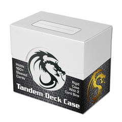 Tandem Deck Case - White