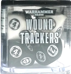 Citadel: Wound Trackers Dice Cube - White
