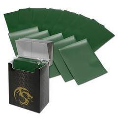 Matte Green - Standard Boxed Sleeves (BCW) - 80 ct