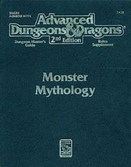 2nd Edition Monster Mythology (Dungeon & Dragons)