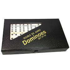 Dominoes Double Six Jumbo