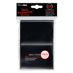 Black (Ultra Pro) - Standard Sleeves - 100ct