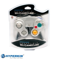 Cirka Silver Wii/Gamecube Controller - Wired
