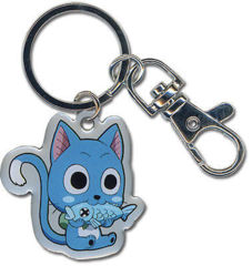 Happy Metal Key Chain (Fairy Tail)
