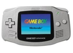 Game Boy Advance Silver