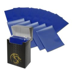 Matte Blue - Standard Boxed Sleeves (BCW) - 80 ct