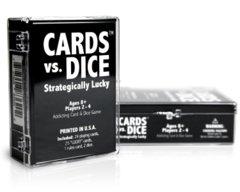 Cards Vs. Dice: Strategically Lucky