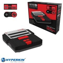 Hyperkin SNES/ NES RetroN 2 Gaming Console (Black)