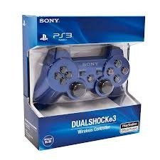 PlayStation 3 (PS3) Controller in Blue Wireless DS 3 (Repro)