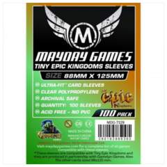 Tiny Epic Kingdoms - (MayDay Games) Sleeves 88mm x 125mm - 100ct