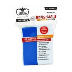 Ultimate Guard - Supreme (Matte Blue) - Small Sleeves