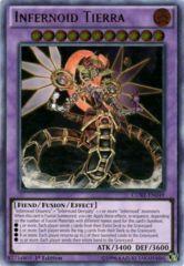 Infernoid Tierra - CORE-EN049 - Ultimate Rare - Unlimited Edition