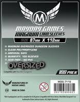 Clear - (Mayday Games) Magnum Sleeves - 87mm x 112mm - 100ct