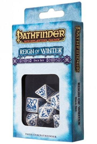 Reign of winter Pathfinder 7 Dice Set