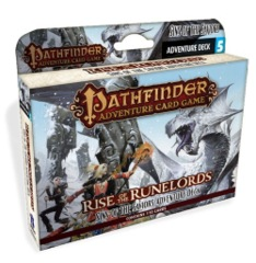 Pathfinder Adventure (Card Game) - Rise of the Runelords - Sins of the Saviors Adventure Deck