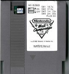 Nintendo World Championships 1990 Grey