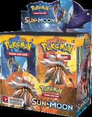 Pokemon TCG: GX Sun and Moon Booster Display (36)