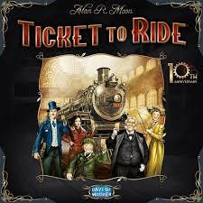 Ticket to Ride - 10th Anniversary Edition - In Store Sales Only