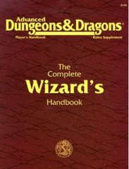 2nd Edition The Complete Wizard's Handbook (Dungeon & Dragons)
