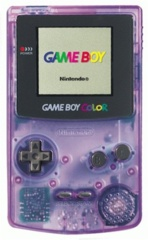 Game Boy Color Clear Purple