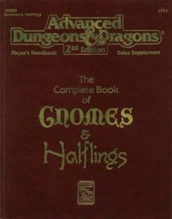 2nd Edition The Complete Book of Gnomes & Halflings (Dungeon & Dragons)