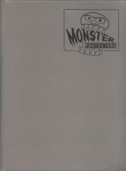 Monster Protectors 9 Pocket Silver Binder