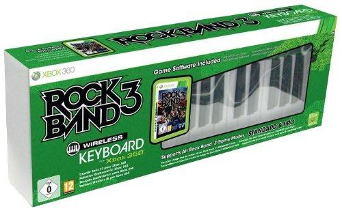 rock band 3 wireless keyboard (360)