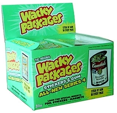 Wacky Packages: Stickers & Gum: All-New Series 4: Booster Box: 2006 Edition