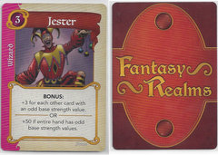 Fantasy Realms Jester Card