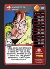 Android 16, Injured - U72