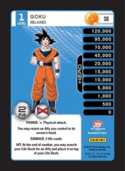 Goku 1-4 Evolution Personality Stack Pack Foil
