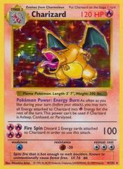Charizard - 4/102 - Holo Rare - Shadowless Edition