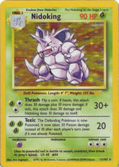 Nidoking - 11/102 - Holo Rare - Unlimited Edition